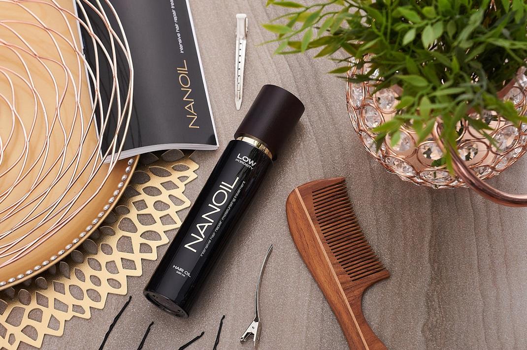 Nanoil do przetłuszczających się włosów