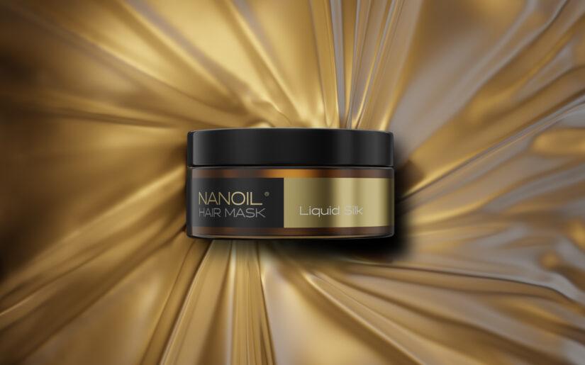 maska do włosów z płynnym jedwabiem nanoil